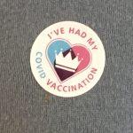 Vaccination badge