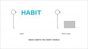 Make Habits you want visible