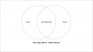You are both. Train both.